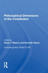 Cover Philosophical Dimensions Of The Constitution