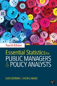 Cover Essential Statistics for Public Managers and Policy Analysts