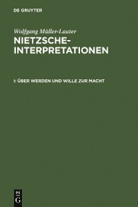 Cover Über Werden und Wille zur Macht