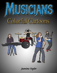 Cover Musicians Colorful Cartoons