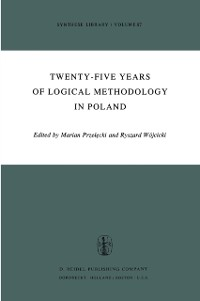 Cover Twenty-Five Years of Logical Methodology in Poland