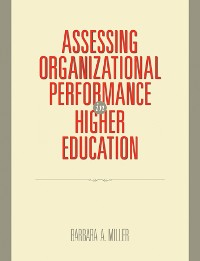 Cover Assessing Organizational Performance in Higher Education