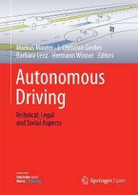 Cover Autonomous Driving