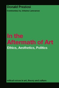 Cover In the Aftermath of Art