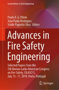 Cover Advances in Fire Safety Engineering