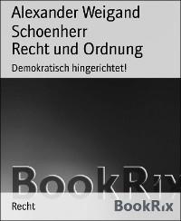 Cover Recht und Ordnung