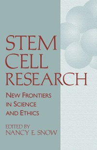 Cover Stem Cell Research