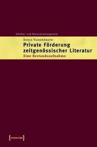 Cover Private Förderung zeitgenössischer Literatur