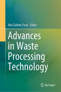 Cover Advances in Waste Processing Technology