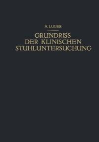 Cover Grundriss der Klinischen Stuhluntersuchung