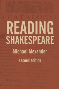 Cover Reading Shakespeare