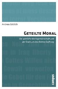 Cover Geteilte Moral