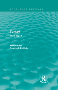 Cover Turkey (Routledge Revival)