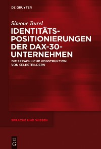 Cover Identitätspositionierungen der DAX-30-Unternehmen