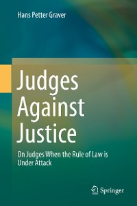 Cover Judges Against Justice