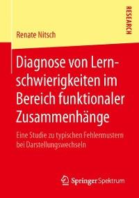 Cover Diagnose von Lernschwierigkeiten im Bereich funktionaler Zusammenhänge