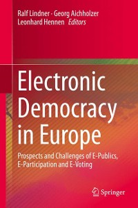 Cover Electronic Democracy in Europe