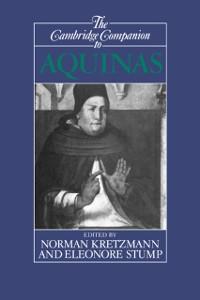 Cover Cambridge Companion to Aquinas