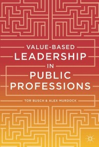 Cover Value-based Leadership in Public Professions