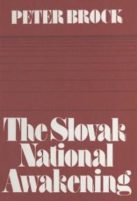 Cover Slovak National Awakening