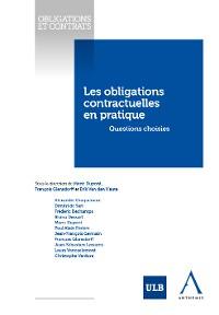 Cover Les obligations contractuelles en pratique