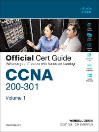 Cover CCNA 200-301 Official Cert Guide, Volume 1