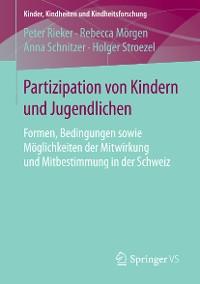 Cover Partizipation von Kindern und Jugendlichen