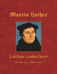 Cover Martin Luther - Luther-Leksikon