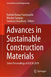 Cover Advances in Sustainable Construction Materials