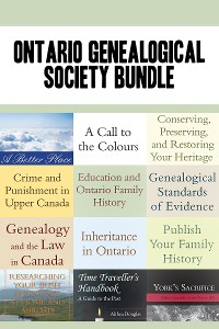 Cover Ontario Genealogical Society 12-Book Bundle