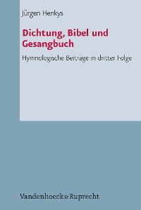 Cover Dichtung, Bibel und Gesangbuch