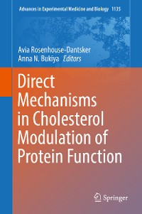 Cover Direct Mechanisms in Cholesterol Modulation of Protein Function