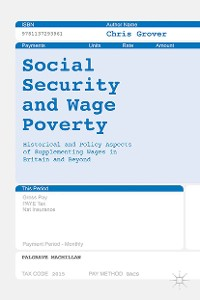 Cover Social Security and Wage Poverty
