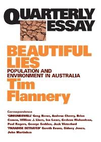 Cover Quarterly Essay 9 Beautiful Lies
