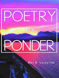 Cover Poetry To Ponder