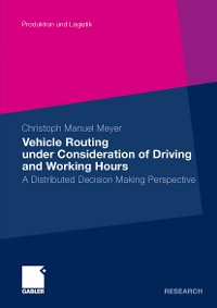 Cover Vehicle Routing under Consideration of Driving and Working Hours