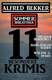Cover Sommer Bibliothek 11 besondere Krimis