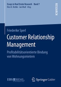 Cover Customer Relationship Management