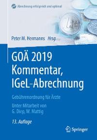 Cover GOÄ 2019 Kommentar, IGeL-Abrechnung