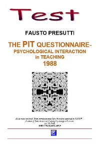 Cover The PIT Questionnaire for Teachers and Students