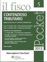 Cover Contenzioso tributario