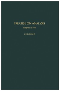 Cover Treatise on Analysis