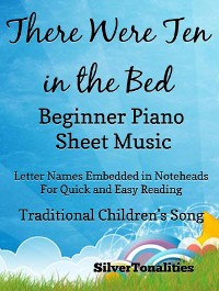 Cover There Were Ten in the Bed Beginner Piano Sheet Music