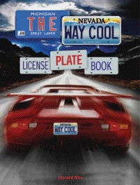 Cover Way Cool License Plate Book