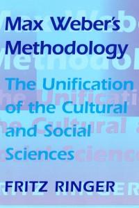 Cover Max Weber's Methodology