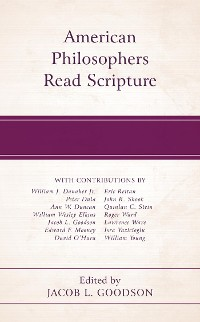 Cover American Philosophers Read Scripture