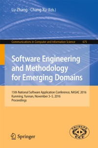 Cover Software Engineering and Methodology for Emerging Domains