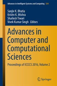 Cover Advances in Computer and Computational Sciences