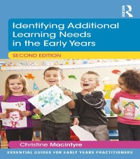 Cover Identifying Additional Learning Needs in the Early Years