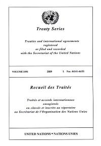 Cover Treaty Series 2592/Recueil des Traités 2592